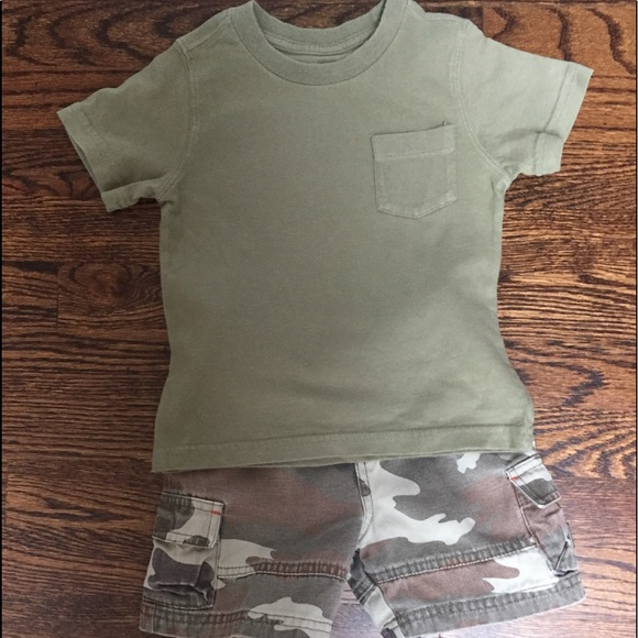 The Children's Place Other - Children's Place Boys Camouflage Short (see size)